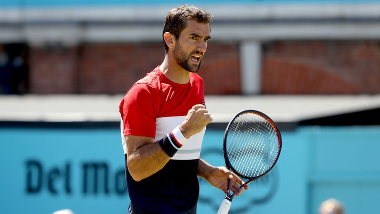 Cilic's serve has been virtually untouchable during the tournament