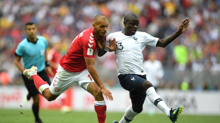 France and Peru played out the first goalless draw of the 2018 competition