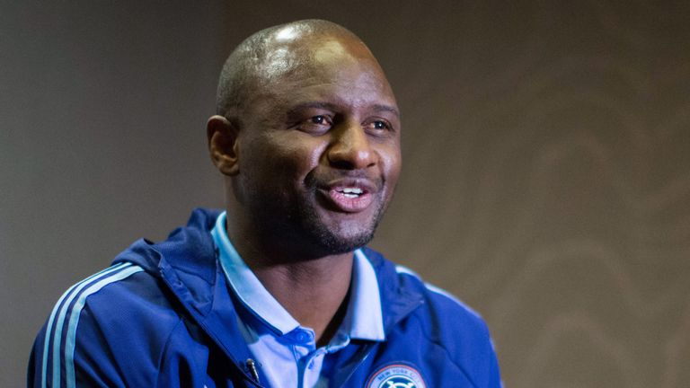 Patrick Vieira was manager of New York City FC