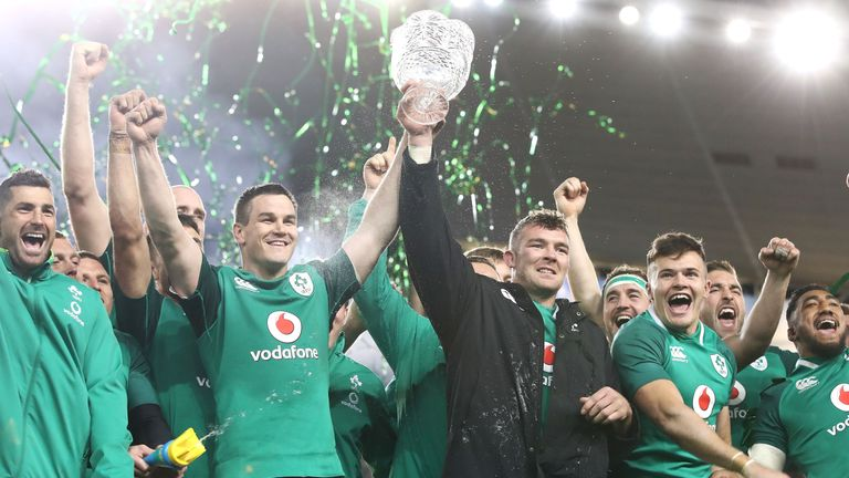 Ireland were also named World Rugby Team of the Year
