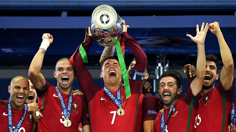 Reigning European champions Portugal rank sixth in the Sky Sports World Rankings