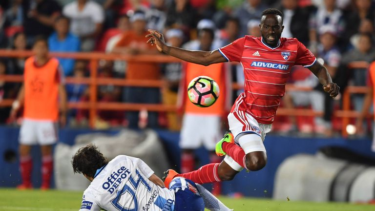 Roland Lamah was on target for FC Dallas at Minnesota