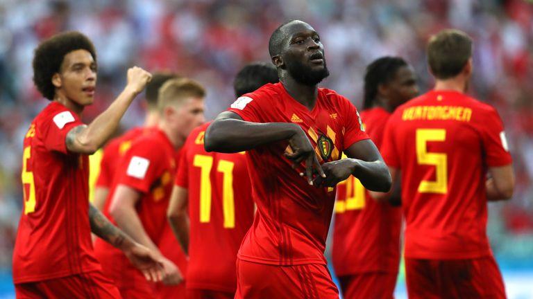 Lukaku scored twice in Belgium's 3-0 win over Panama
