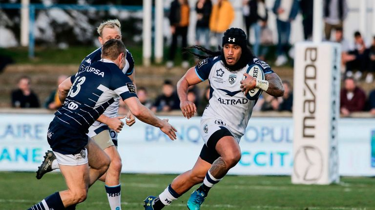 Joe Tomane has moved to Leinster from Montpellier