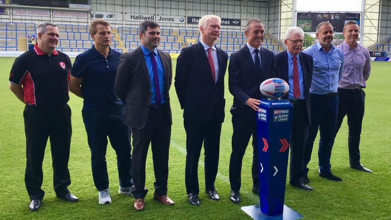 Elstone was previously a board member at Castleford Tigers and assistant to former Rugby Football League (RFL) chief executive Maurice Lindsay