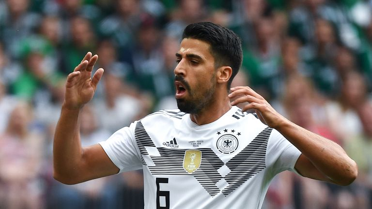 Sami Khedira is not involved for the games against France and Peru