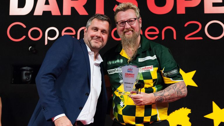 Simon Whitlock could not claim his first European title since 2012