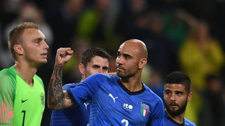 Simone Zaza scored for Italy