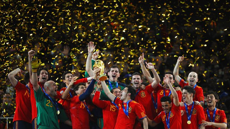 Image result for spain world cup 2010