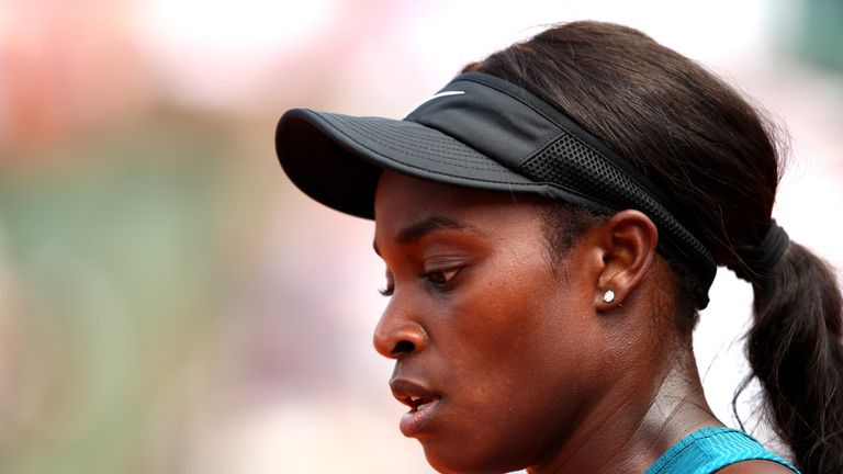 Stephens was seeking a second Grand Slam title