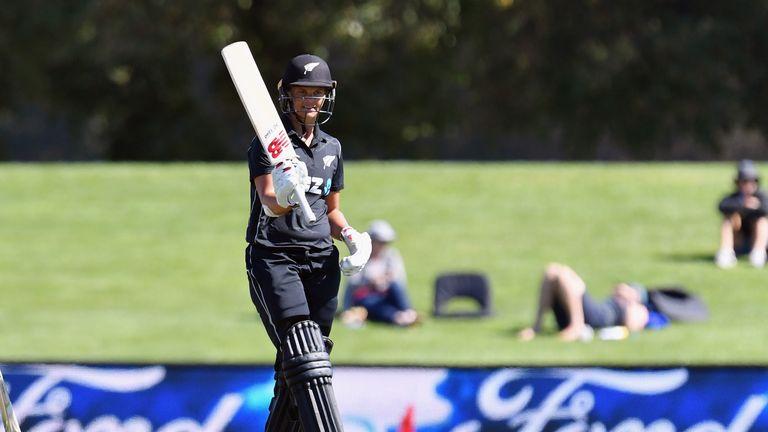 Suzie Bates has an ODI high score of 168