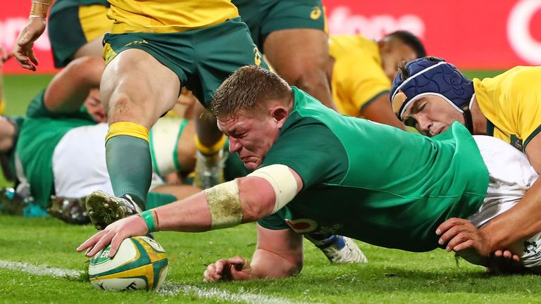Ireland's Tadhg Furlong was one of the players of the week, but who joins him in our XV?