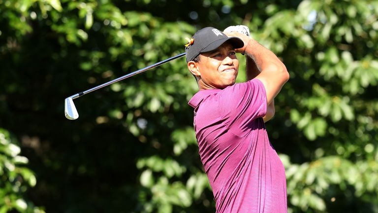 during the second round of the Quicken Loans National at TPC Potomac on June 29, 2018 in Potomac, Maryland.