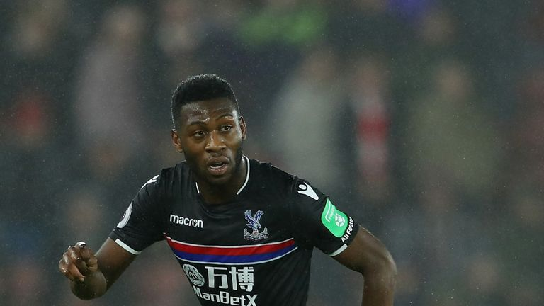 Timothy Fosu-Mensah spent last season on loan at Crystal Palace