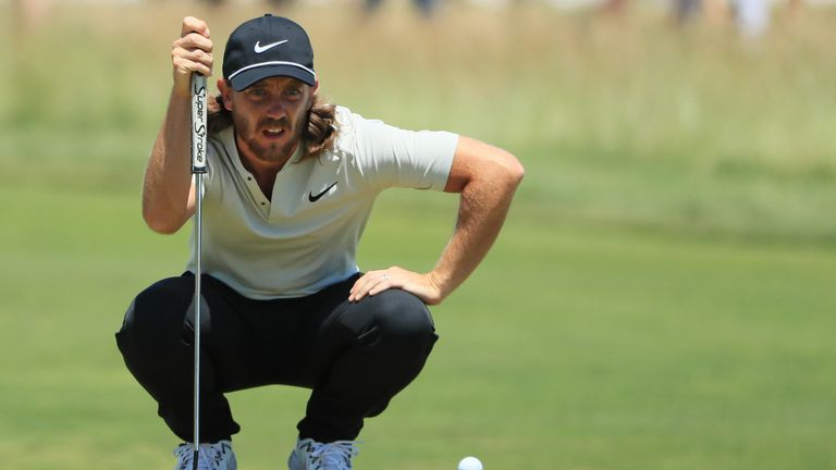 Tommy Fleetwood was in remarkable form on the greens