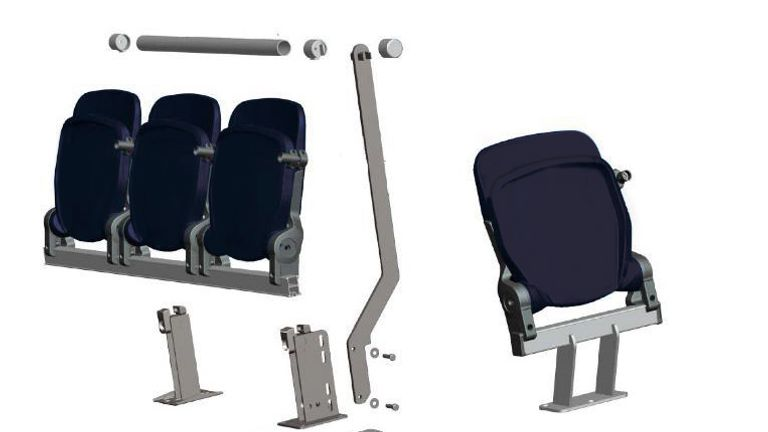 """Spurs claim they have """"created a different, improved design that doesn't compromise comfort"""" compared to rail seats"""