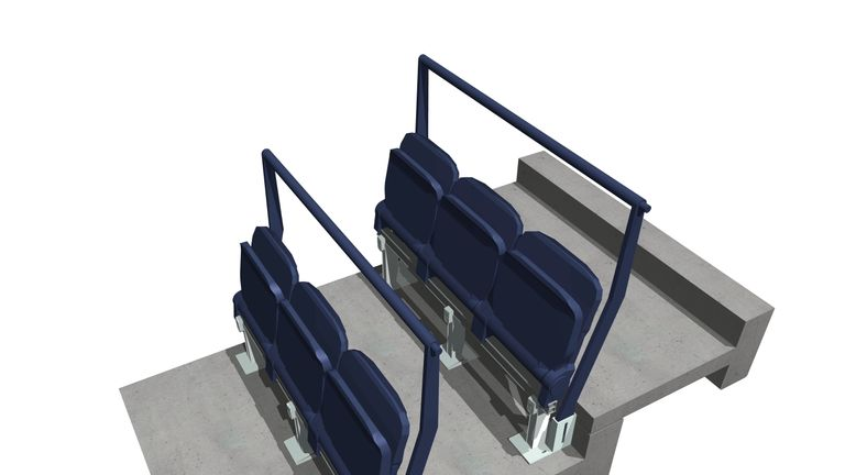 """Tottenham are proposing """"a concept whereby safety and spectator comfort are given equal precedence"""""""