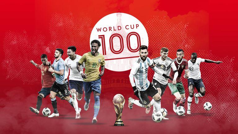 e2c68ec5a The World Cup 100  Superstars