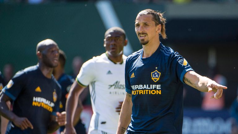 Ibrahimovic is on the shortlist for MLS' Most Valuable Player award