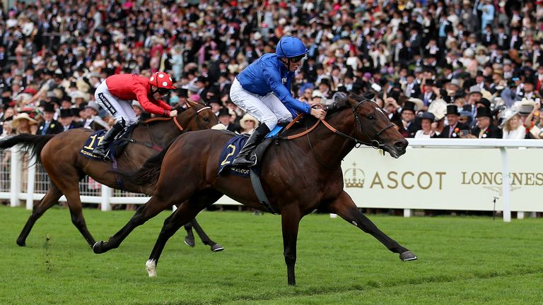 Blue Point: Steps up in trip for the Darley July Cup