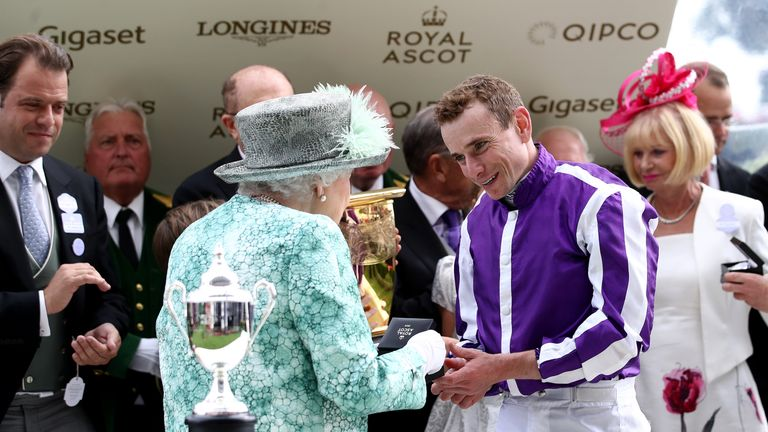 Ryan Moore - top jockey at Royal Ascot