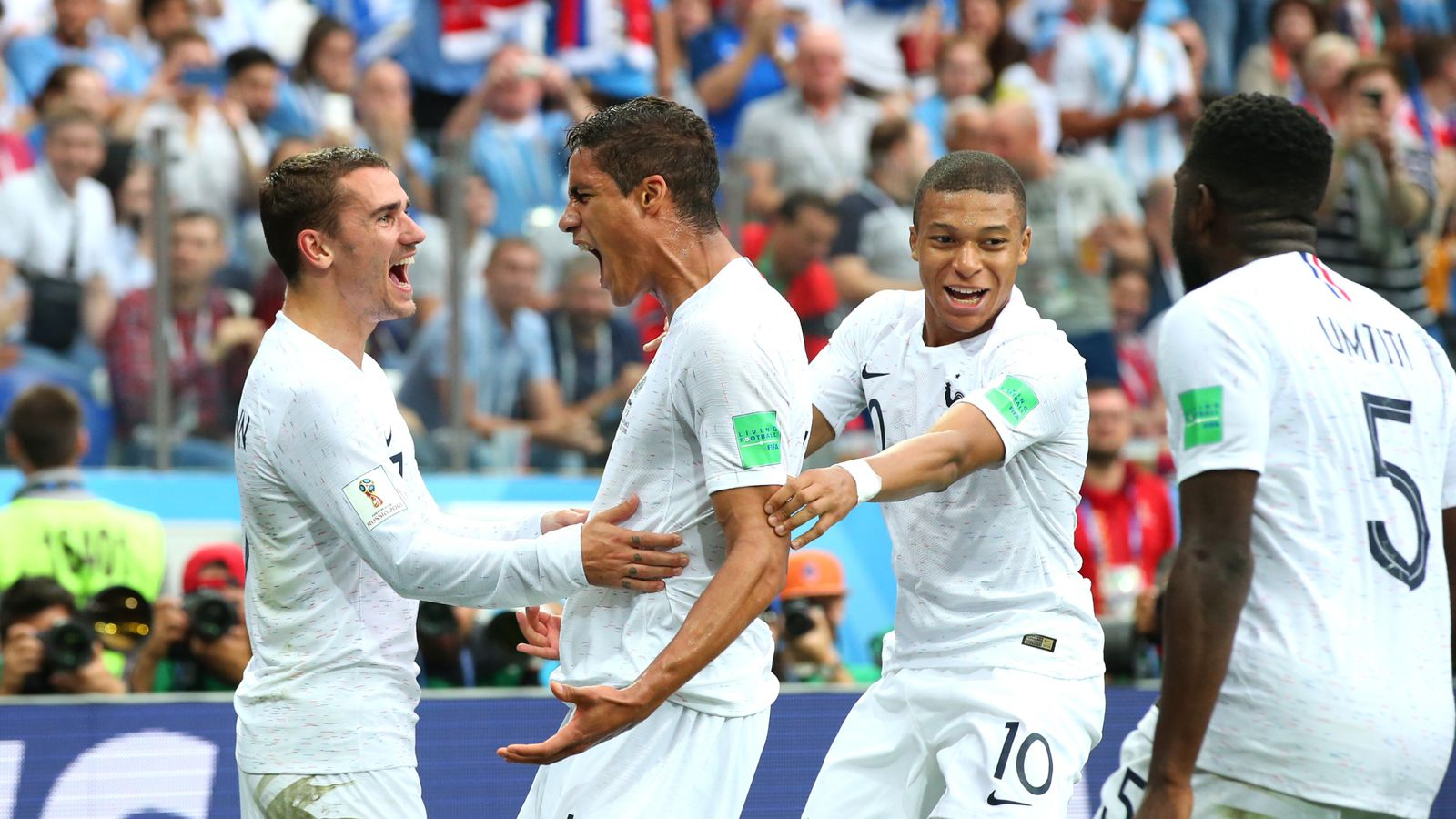 Uruguay 0 - 2 France - Match Report & Highlights