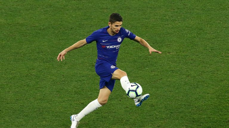 Midfielder Jorginho is Chelsea's headline arrival of the summer