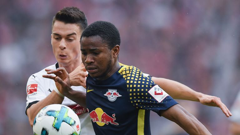 Ademola Lookman spent last season on loan at RB Leipzig