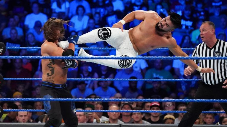 Andrade Almas has made a huge impression on SmackDown and could face Mysterio in a battle of the Mexicans