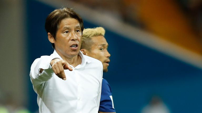 Akira Nishino is leaving his role as Japan coach following their World Cup exit