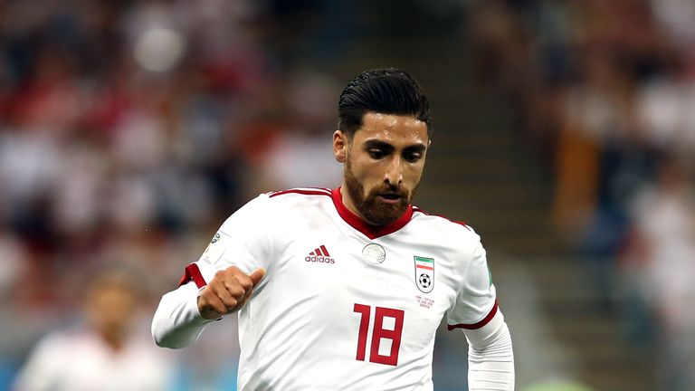 Jahanbakhsh is closing in on 50 caps for Iran