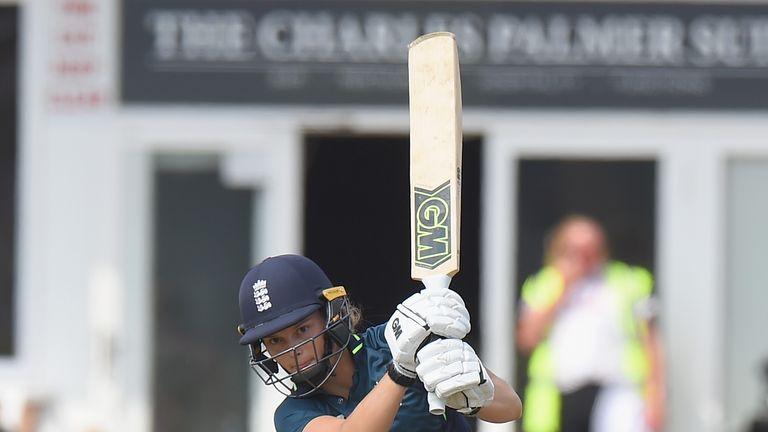 Jones has scored three half-centuries in her last seven ODI innings