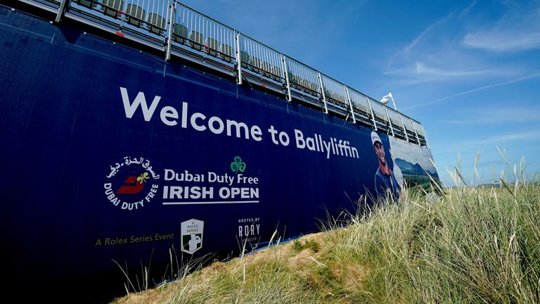during a practice round prior to the Dubai Duty Free Irish Open at Ballyliffin Golf Club on July 2, 2018 in Donegal, Ireland.