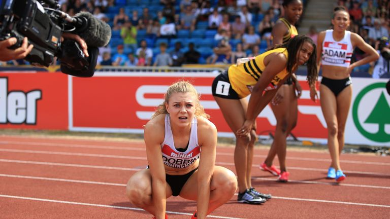 Beth Dobbin's rise up the British sprinting ranks has been impressive