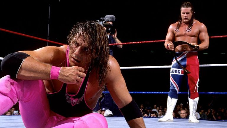 Bret Hart's match with British Bulldog at Summerslam 1992 is considered one of the best ever.