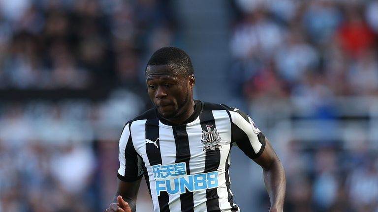 Chancel Mbemba spent three years at Newcastle