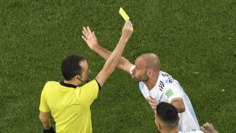 There was controversy when Cakir refereed Nigeria's defeat to Argentina