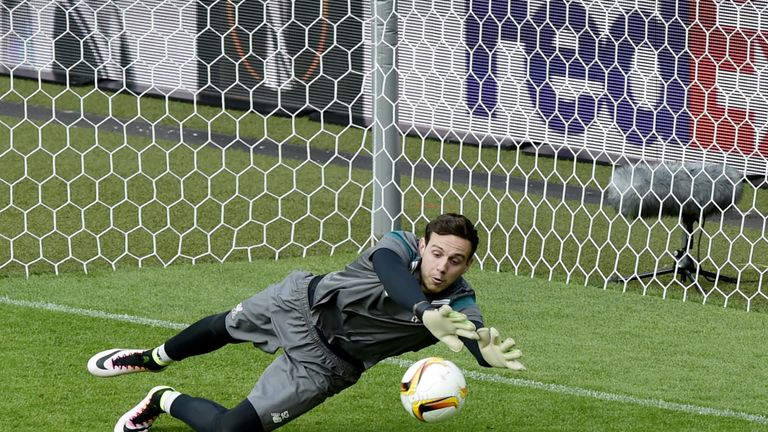Liverpool goalkeeper Danny Ward could be on his way to Leicester as Alisson arrives on Merseyside