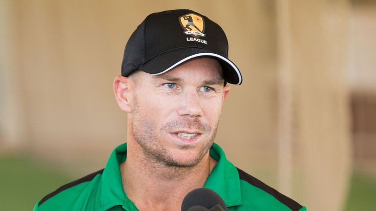 David Warner, banned from Australia duty, will play for St Lucia Stars