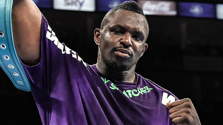 The early stages of Dillian Whyte's career