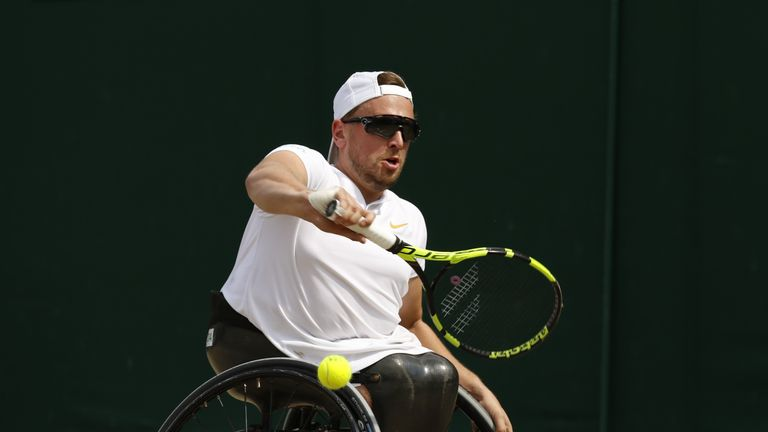 Dylan Alcott's plans go beyond just playing