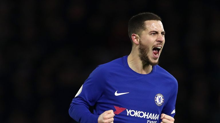 Eden Hazard is a transfer target for Real Madrid