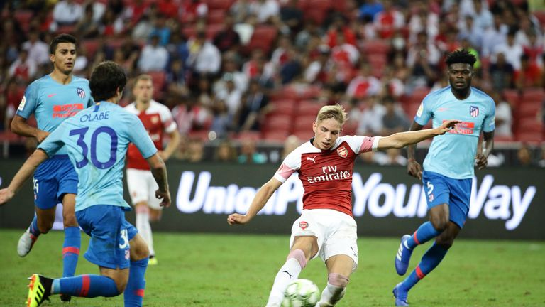 Emile Smith Rowe hit a fine equaliser for Arsenal on Thursday