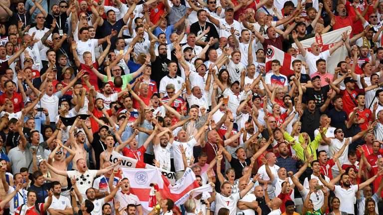 England fans relished their experience in Russia despite pre-tournament concerns