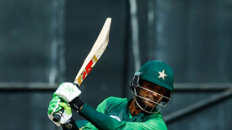 Fakhar hit scores of 60, 117no, 43no, 210no and 85 in Pakistan's five-match ODI series against Zimbabwe