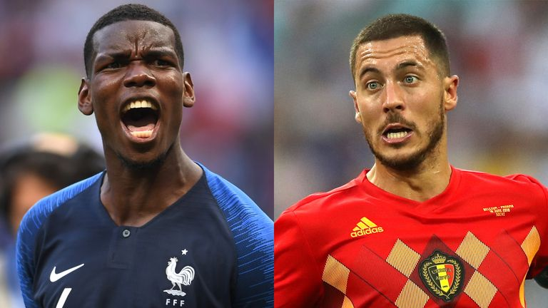 France and Belgium will meet for the 74th time in all competitions on Tuesday