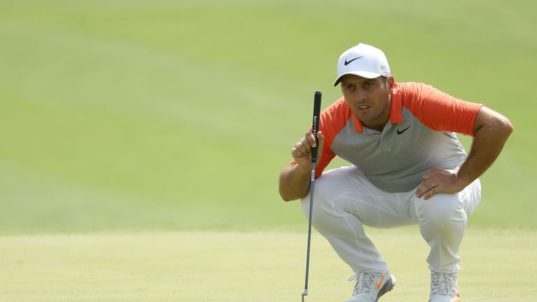 Francesco Molinari made eight birdies on day one