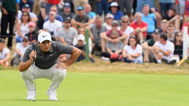 Francesco Molinari fired a bogey-free 69 to clinch The Open title