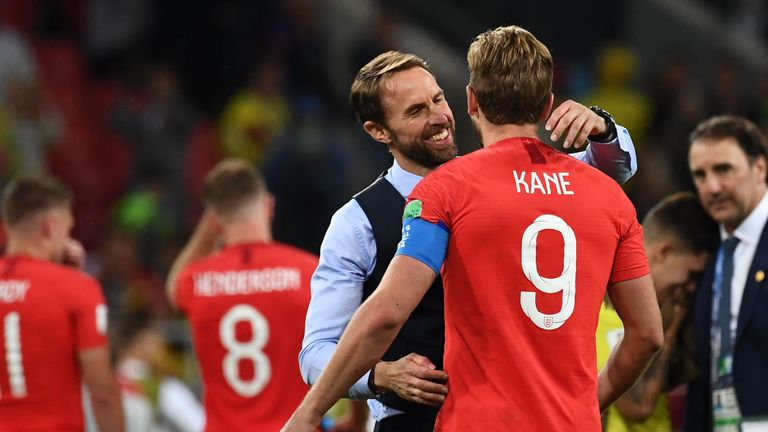 Harry Kane has captained England in Russia