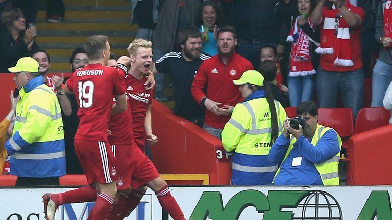 Gary Mackay-Steven put Aberdeen ahead